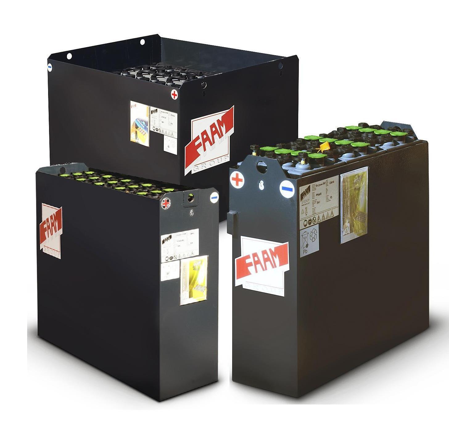 Тяговые аккумуляторные батареи FAAM